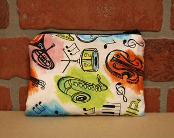 One Snack Sack, Reusable Lunch Bags, Waste-Free Lunch, Machine Washable, Music, Back to School, School Lunch, item #SS76