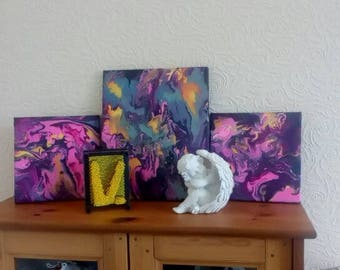 Set of 3 paintings