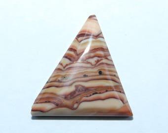 Wave Dolomite Triangle Cabochon