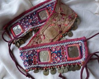 Vintage Banjara tribal fusion ethnic belt.