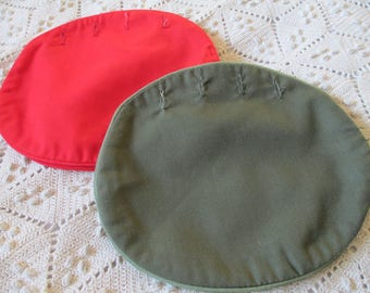 Vintage Pappagallo Cotton Bermuda Bag Cover