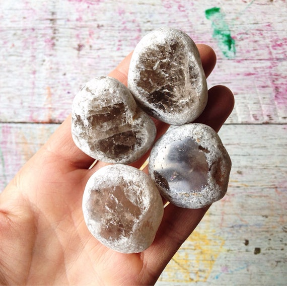 Smokey Quartz Seer Stone