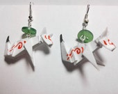 Origami Amateratsu Earrings