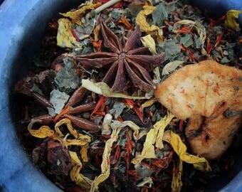 teas & tisanes / sample size: 1 oz