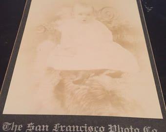Antique baby photograph