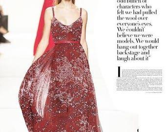 SALE! Wine red silk fabric,Printed silk chiffon fabric, scarf fabric, Chiffon scarf fabric, Wedding dress fabric by 1m long-(AJH3)