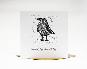 Blackbird Fly Card