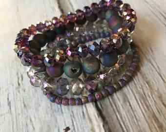 Mermaid Stacked Bracelet Set