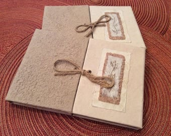 paper supplies ... beautiful ARTISAN JOURNAL Natural Silk Collection handmade paper with pen ...
