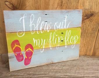 Margaritaville Flip Flop Sign