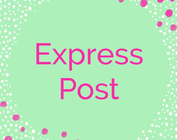 Express post within Australia Captial City