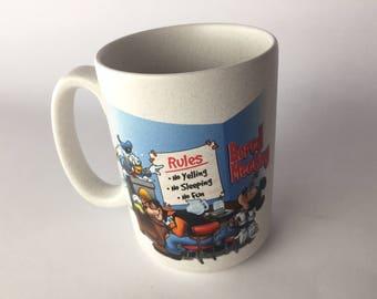 "Disney World, Disney Parks ""Bored Meetings"" LARGE Mug"