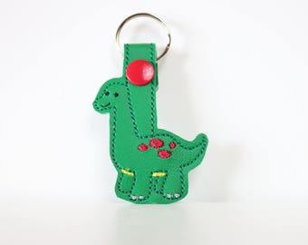 Digital File - Dino Snap Tab/ Key Fob/ Key Chain