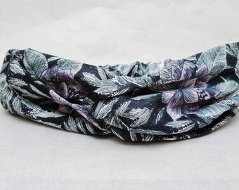 Headband, Adult headband, festival headband, turban, bandeau, yoga headband, vintage fabric headband