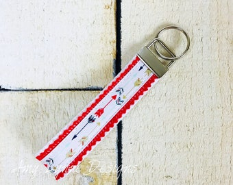 Mulit Colored Arrowed Key Chain, Arrow Keychain, Keychain