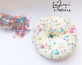 Sparkly sprinkles, shimmer and shine party, shimmer and shine sprinkles, sprinkles . Multi color sprinkle mix
