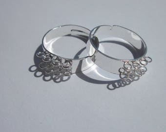 2 rings with 8 rings double row fastening - (7)
