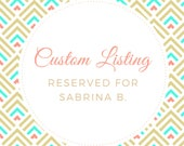 Reserved listing for Sabrina B.  - 2 Custom ordered soap loaves - 16 bars total