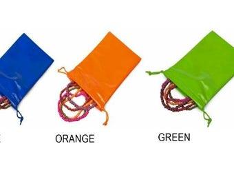 Orange Soft Vinyl Gift Bag