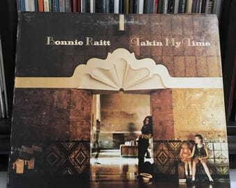 "Bonnie Raitt - ""Takin My Time"" vinyl record"