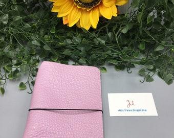 CJ05 - Rosey Posey  - ClassicJot Traveler's Notebook/Planner Cover/Journal