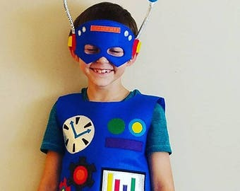 Kids Robot Costume