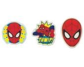 Spiderman 12 pc SUGARSOFT Edible Printed Cake / Cupcake Topper Decorations