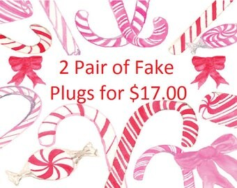 Fake Plugs, Fake Gauges, Christmas Sale, Fake Plug Sale