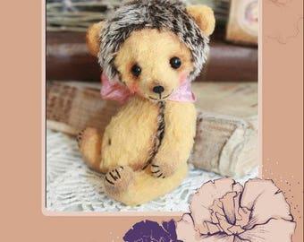 Pattern for 4,7  hedgehog Teddy PDF