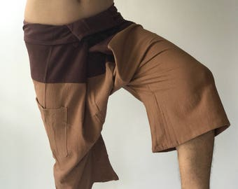 F30008 Thai fisherman/Yoga are pants Free-size: Will fit men or woman Two Tone