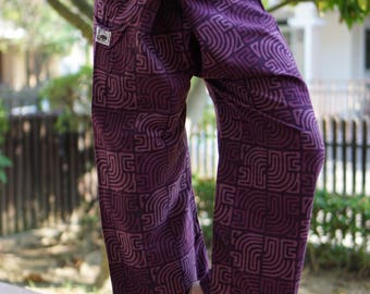 HW0041 thai cotton fisherman, yoga are pants free-size  Free size men's Fashion free-size fit for men or woman