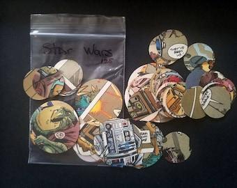Star Wars Comic Circle Confetti 125 total