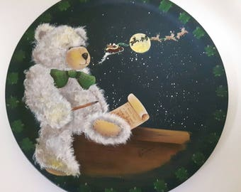 "Decorative ( tole) Painting Pattern Packet ""Bear Wishes"""