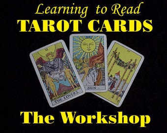 Learning to Read the Tarot Cards Workshop live online