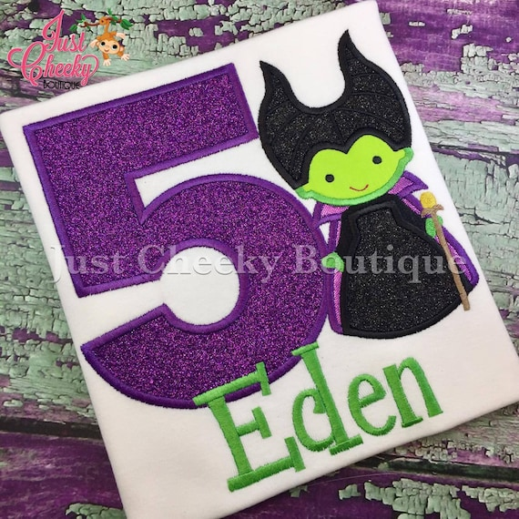 Maleficent Cutie Inspired Embroidered Shirt - Disney Villains Shirt - Disney Sleeping Beauty Birthday Shirt - Spindle - Dragon