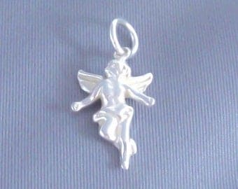 1 Sterling Silver Angel Charm