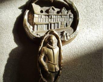 Shakespeare/ Shakespeare's home/Brass Door Knocker/Vintage Brass Door Knocker/ Brass Knocker/Brass Door decoration/strattford