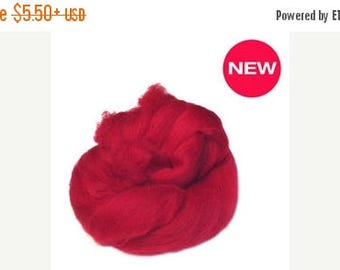 SALE Superfine merino wool ,Color fire