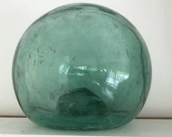Sale! Large Vintage Green Glass Float