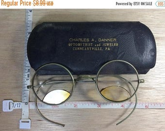 10% OFF 3 day sale Vintage Old Bifocal Eyeglasses Charles Danner Conneatville Pa Used