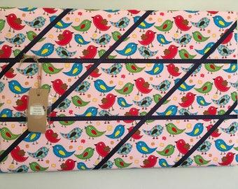 Pink Birds Memory board
