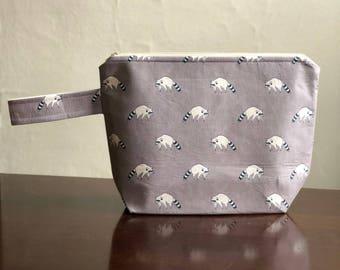 Cute little Bandit Project Bag- Large