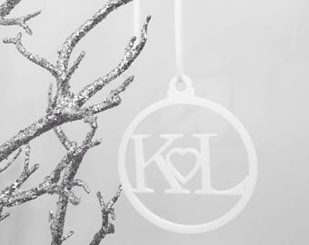 Personalised Initial Bauble