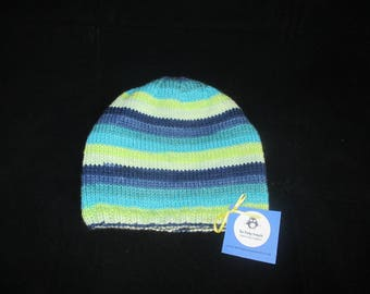Women's striped hat