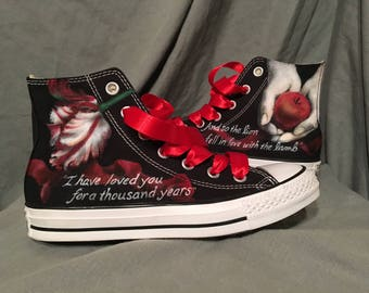 Twilight Converse Shoes custom theme