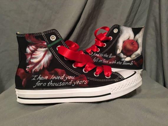 Twilight Converse Shoes custom theme