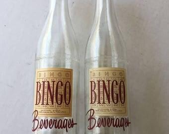 Bingo Soda Bottles set of two