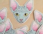 Sphynx Vinyl Sticker