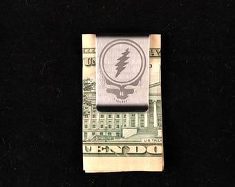 Grateful Dead Money Clip Steal Your Face