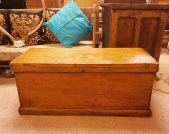 Victorian Pine Box - Antique